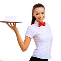 Официантка на день